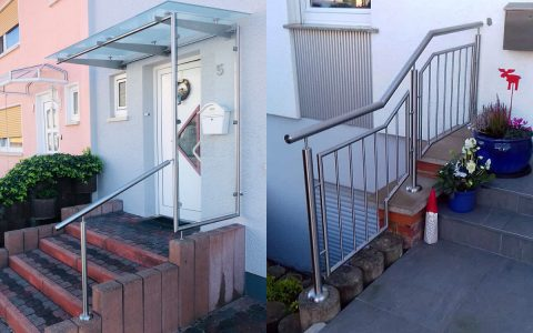 Trösch Edelstahl Vordächer u. Geländer